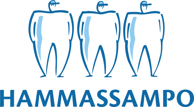Hammassampo logo.